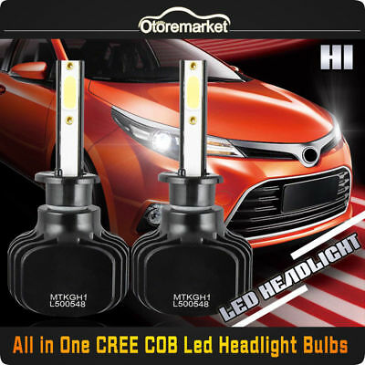 2x H1 LED Headlight Bulb Kit for Nissan Altima Maxima Low Beam Lamp 6000K 120W