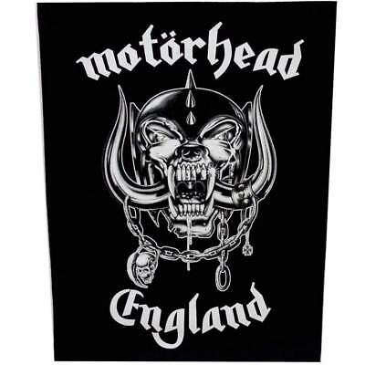 Motorhead England Jacket Back Patch Official Metal Rock Band Merch New