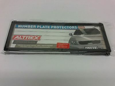 Number Plate Frame 6 Digit Surrounds Covers Rego Licence License Figure Lines