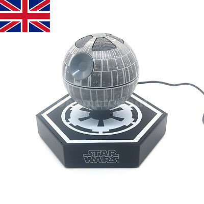Star Wars Death Star Bluetooth Speaker Portable Magnetic Floating Levitating UK