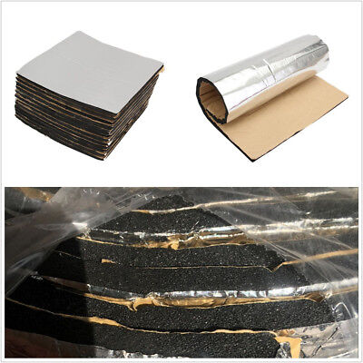6 Sheets 40cmX40cm Car Auto Sound Proofing Deadening Insulation Closed Cell Foam