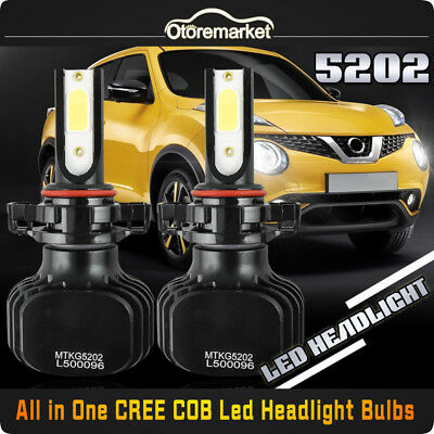 H16 LED Bulb Kit Fog Lamp for Toyota Tundra RAV4 Corolla 4Runner Highlander Pair