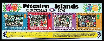1979 Pitcairn Island Christmas Miniature Sheets Decimal Stamps - Fresh Muh