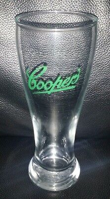 Rare Collectable Coopers Green Logo 285Ml Beer Glass In Good Used Condition