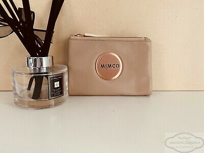 Mimco Balsa Mim Petite Fold Wallet Leather Brass Authentic New with tagRRP149.00