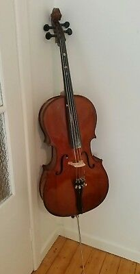 Student Cello 1/2 with Case - Good Condition - Ballarat
