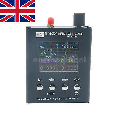 N1201SA UV RF Vector Impedance ANT SWR Antenna Analyzer Meter Tester UK SHIP