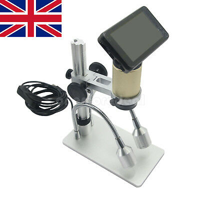 Andonstar 3MP HD USB Digital Microscope HDMI 10x-300x for PCB Repair Tool UK