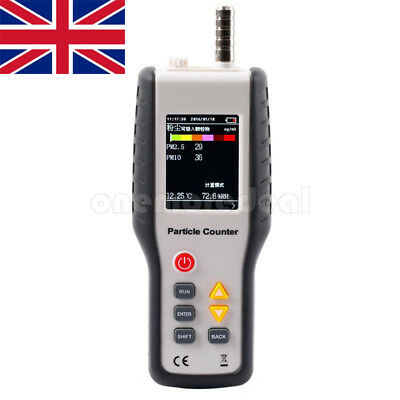 HT-9600 PM2.5 Detector Particle Monitor Laser Dust Test Meter Air Analyzer UK