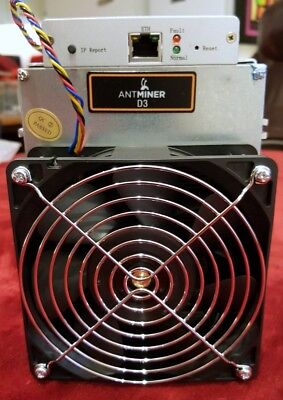 Bitmain Antminer D3 19.3GH/z + PSU Brand new boxed - All taxes paid - In stock.