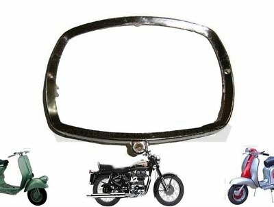 Lambretta Gp Head Light Lamp Rim Chrome Plated Alloy @de