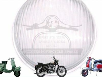 Lambretta Sx Tv Innocenti Cev Stamped Headlight Glass @de