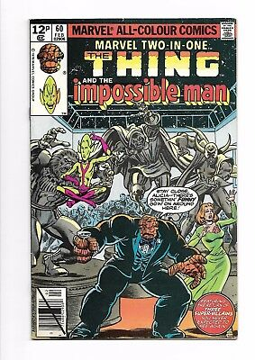 Marvel Two-in-one # 60 FN+ 7.0 Marvel Comics The Thing The Impossible Man