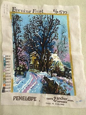 """VINTAGE 1970's Unfinished PENELOPE """"EVENING FROST"""" Made in England"""