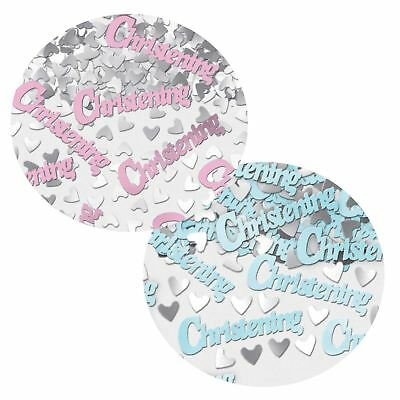 Girl Boy Baby Shower Christening Confetti Gender Tableware Party Decoration Cute