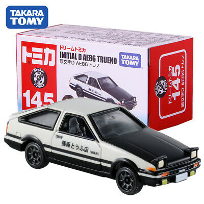 Takara Tomy Dream Tomica Intial D AE86 Trueno  #145 NO.486466 Diecast Toy Car