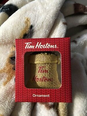 Tim Hortons Sack of Coffee Beans Christmas ornament