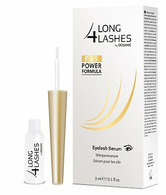 Long4Lashes-FX5-Wimpernserum-Wimpern-Wachstum-Oceanic, Eyelash Serum 3ml