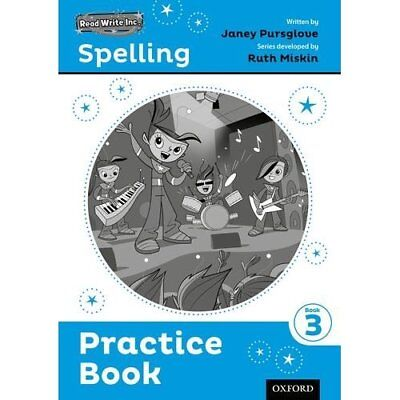 Read Write Inc. Spelling: Practice Book 3 Pack of 30 Pursglove, Janey/ Roberts,