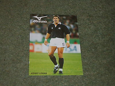 Kenny Logan Glasgow,Wasps,London Scottish,Scotland MIZUNO trade card