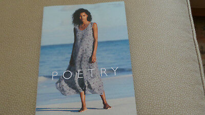 Poetry Women's Fashion Catalog 186 pgs great clothes; great models Summer 2017