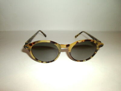Vintage Revo Yellow Tortoise Sunglasses #985 009 From Travelers Collection