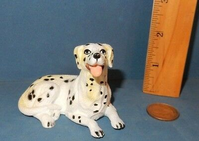 Lovely New-Ray  Dalmation  Dog Breed Figurine Figure Soft Rubber