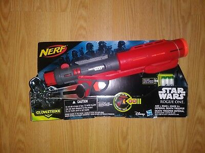 NEW Nerf GUN Star Wars Rogue One *NERF* Imperial Death Trooper Deluxe Blaster!