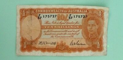 Australia KGVI Commonwealth of Australia 10 shillings SN5727