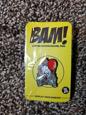 Bam Box Pennywise IT Expansion Pack Hat Pin Limited To 350