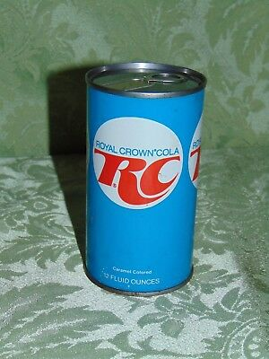 1950' or 1960's unopend Royal Crown Cola Can RC Ring Top