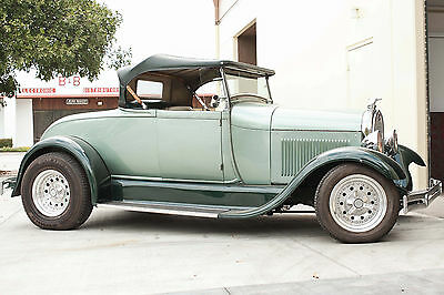 1928 Ford Model A Green 1928 MODEL A FORD ROADSTER