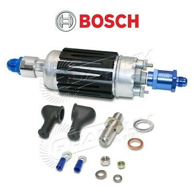 GENUINE BOSCH (044) 0580254044 Fuel Pump -8AN Inlet & -6AN Check Valve Fittings
