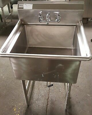 WinHolt Stainless Steel Single Compartment Commercial Sink