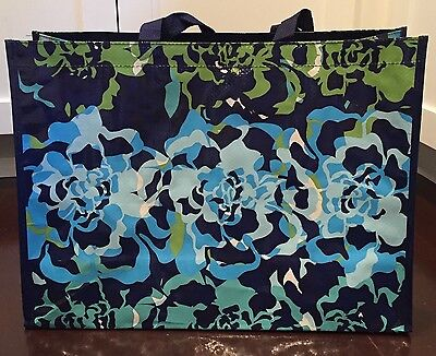 Vera Bradley Market Bag Katalina Blue, Reusable shopper