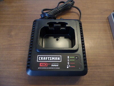 Craftsman 40 Volt MAX Lithium-Ion Battery Charger 98024 FREE SHIPPING