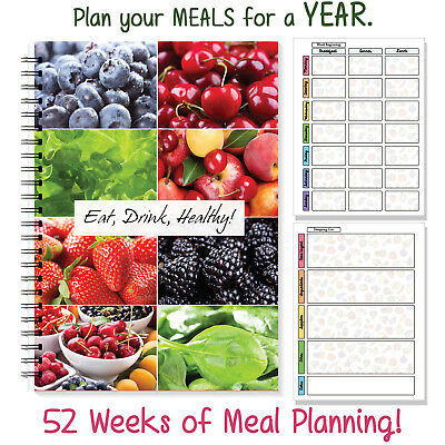A5 Planner 25 Weeks Wire Notebook Planner Journal Meal Diary Organiser 2018 [39]