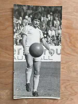 8x4 Press photo very young Billy Wright Everton Football Club. (Late 70's)