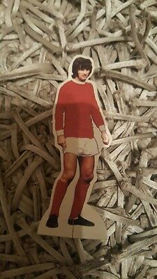 George Best card figure from the 1970's - In very good condition