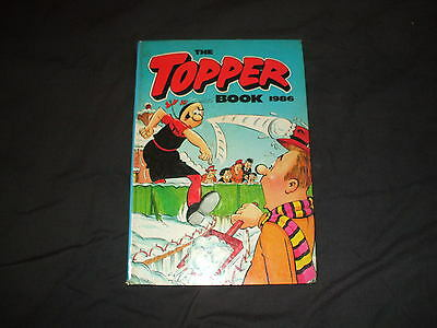 TOPPER BOOK 1986 topper beano dandy  great condition. unclipped