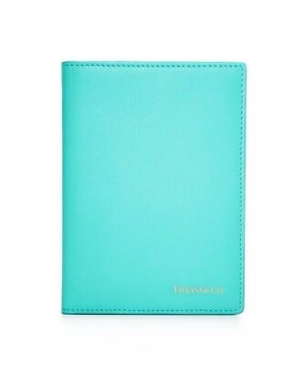 Tiffany & Co.  Leather Passport Holder Cover Case