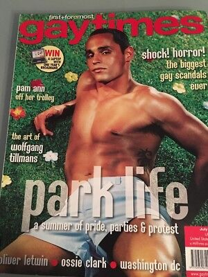 Vintage Gay Times Magazine - Issue 298 - Parklife