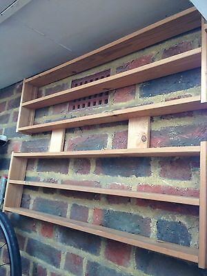 Vintage  Wooden Storage Display