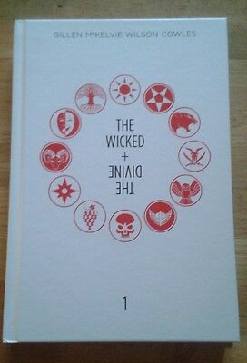 The Wicked + The Divine Hardcover. Red & White Forbidden Planet Variant. 23/150!