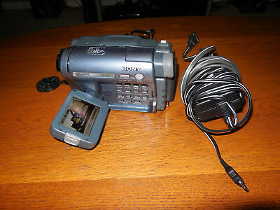 Sony Handycam CCD-TRV328 Hi-8 Analog Camcorder - Tested - Working
