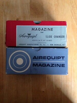 Lot of 2 Airequipt magazines for 2x2 slides