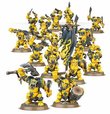 Age of Sigmar - IronJawz Orruk ArdBoys X 5 - Orc Brand New Unboxed Ardboyz