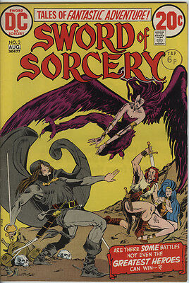 Sword of Sorcery Issue 3 from 1973 Scarce Fafhrd & Gray Mouser Nice Comic