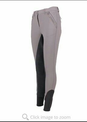 Brand new ANKY elegance breeches 42 / 28 / 14 graphite