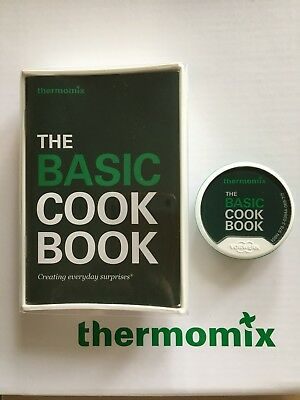 Thermomix Basic Cook Book Recipe Chip Unregistered Brand New free postage
